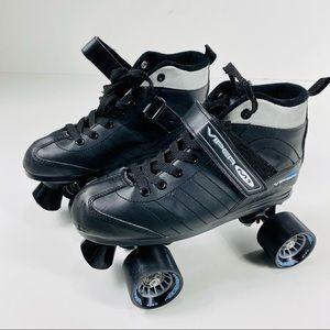 Viper M1 Skates Roller Derby Black Skates Size 7